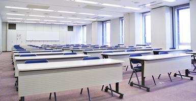 実際にTOEIC試験会場になった研修室